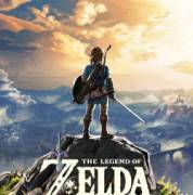 the legend of zelda breath of the wild game box cover art