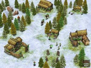 spinoff of age of empires - age of mythology