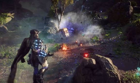 anthem javelin abilities showcased in a new trailer
