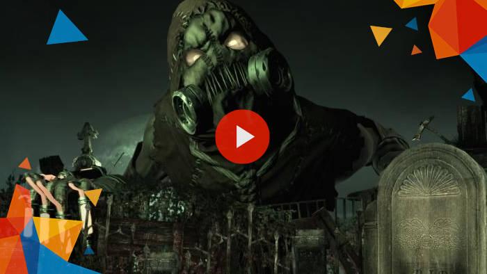 Batman asylum game trailer