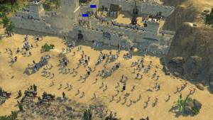 battle in stronghold rts game