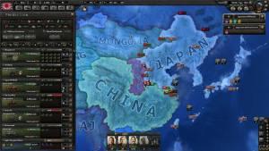 WW2 China Japan Hearts of Iron 4