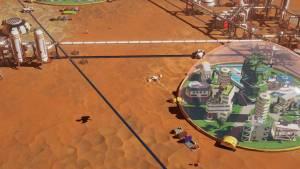 Surviving Mars game graphics