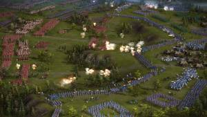 gameplay of cossacks strategy game