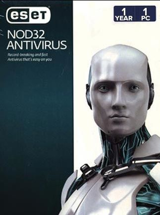 Eset NOD32 Antivirus 1 Device 1 Year License