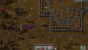 Factorio gameplay
