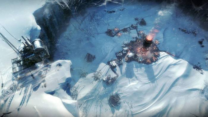 Frostpunk game graphics