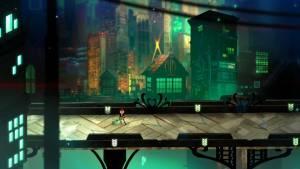 Transistor video game graphic