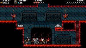 game graphics Shovel Knight