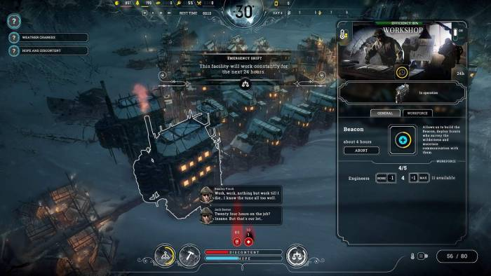 Hosues in frostpunk