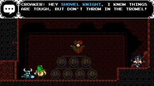Shovel Knight game interaction