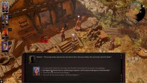 Divinity 2 PC game dialog