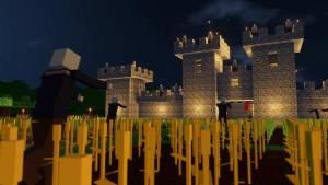 Minecraft game colony survival