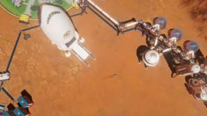 rocket on Surviving Mars