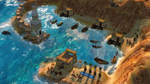 water strategy game age of mythology