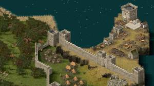 screenshot stronghold video game