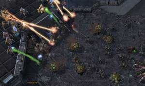 starcraft 2 free game like age of empires (in space)