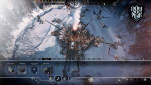 Frostpunk user interface