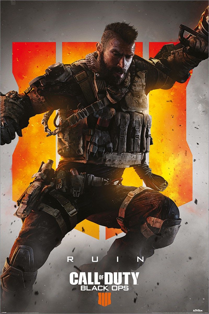 Call of Duty: Black Ops 4 Ruin Maxi Poster
