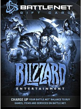 Blizzard GiftCard 50 USD North America