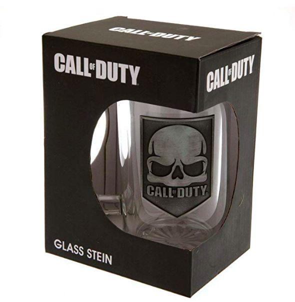 Call of Duty Glass Tankard Glass