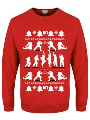 Christmas Jumper Sweater Red
