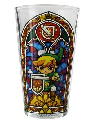 Legend of Zelda Drinking Glass