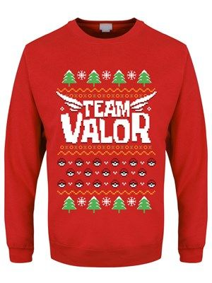 Mens-Team-Valor-Christmas-Jumper-Sweater