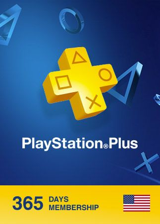Playstation Plus CARD PSN 365 Days North America