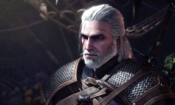 Geralt of Rivia Monster Hunter World