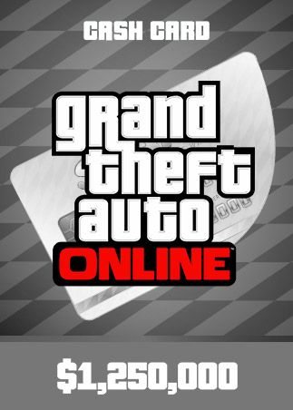 Grand Theft Auto Online Cash Card 1 250 000 USD
