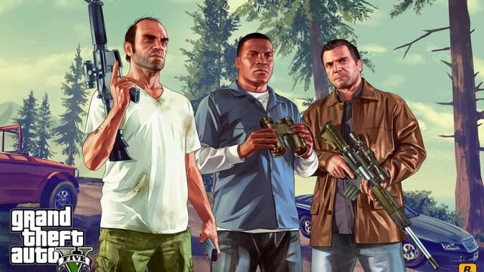 GTA 5 main characters