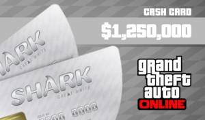 Grand theft auto Money Cash Card