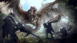 MHW dragon monster