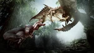 MHW monster fight