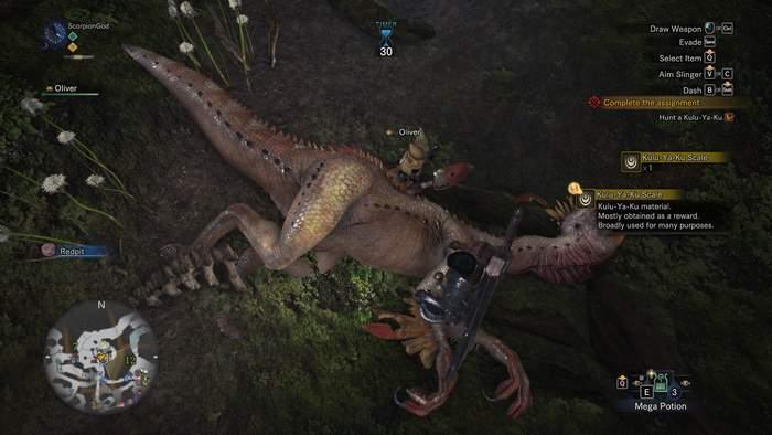 Monster Hunter World - dinosaur