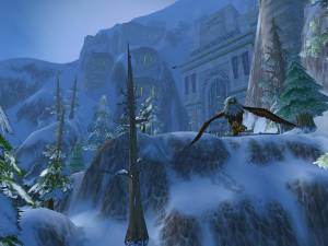 World of Warcraft winter video game