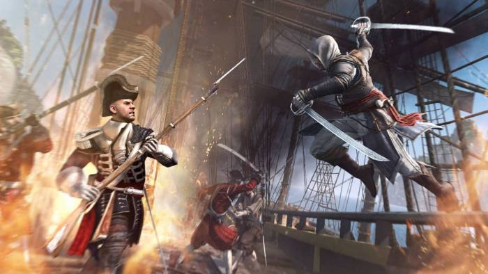 assasins creed black flag ship assault