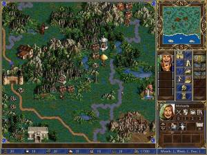 heroes of might and magic iii map