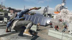 watch dogs 2 roof chase