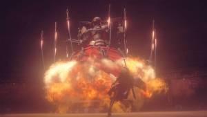 nieR: Automata explosion escape