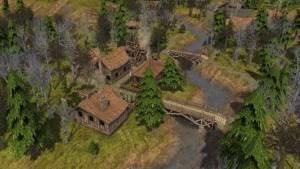 banished game forest village