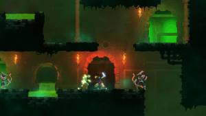 dead cells roguelike game dark level