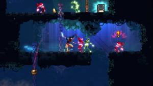 dead cells roguelike game slaying enemies
