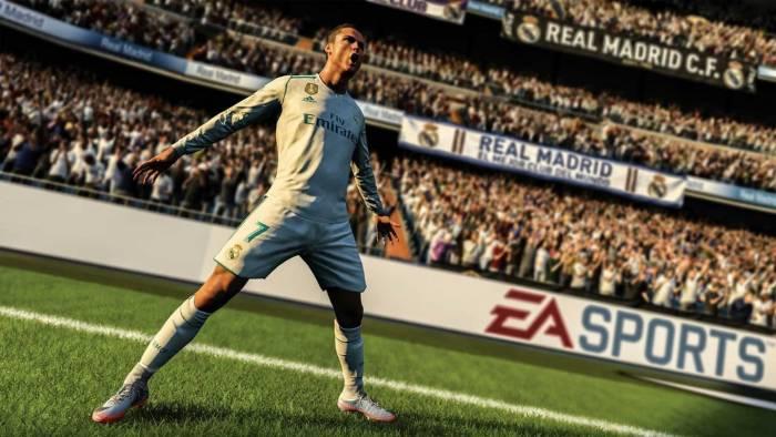 fifa 18 football cristiano ronaldo real madrid