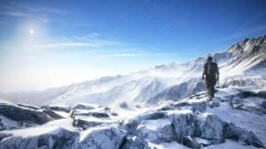tom clancys ghost recon wildlands snowy mountains