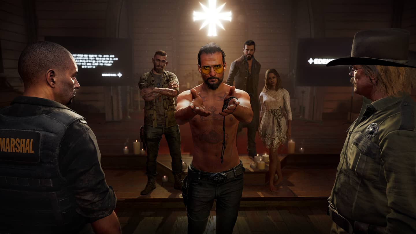 far cry 5 cult leader