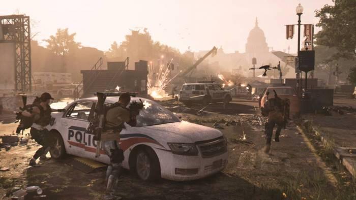 the-division 2 washington d.c shootout