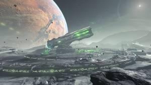 doom eternal game space station gun