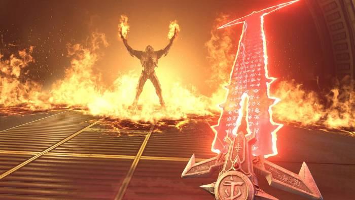 doom eternal game magic sword